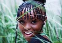 Trend pin auf short hairstyles African American Braids With Bangs Designs
