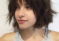 Trend pin on bob length hairstyles Short Hair Bobs With Bangs Inspirations