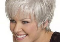 Trend pin on hair styles Gray Hair Styles Short Hairstyles Inspirations