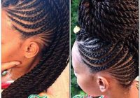 Trend pin on natural hair styles Braid Updo For Short Black Hair Inspirations