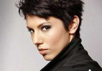 Trend pin on schoonheid Short Pixie Hairstyles For Thick Wavy Hair Inspirations