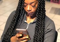 Trend plait braids for protective styling and fast hair growth in Braids African American Hairstyles Ideas