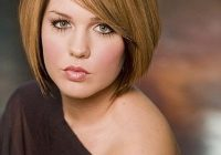 Trend round full face women hairstyles for short hair popular Fat Womens Short Haircuts Inspirations