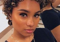 Trend short natural curly hairstyles for stylish black women Short Natural Curly African American Hairstyles
