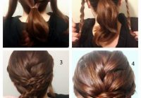 Trend stunning braided updo hairstyle tutorial braided Braid Updo Hairstyles Tutorial Ideas
