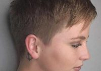 Trend super short haircuts for modern and unique look Ultra Short Haircuts Ideas