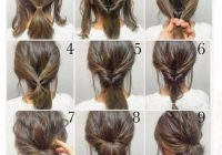 Trend top 100 easy hairstyles for short hair photos what a Easy Updos For Short Hair Casual Ideas