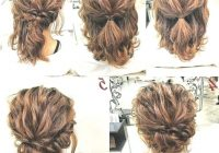 Trend updos for quick curly hair curlyhairstyles simple prom Short Curly Hair Updo Styles Ideas