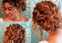 Trend updos for short curly hair short wedding hair curly hair Prom Hairstyles For Short Hair Half Up Half Down Curly Choices