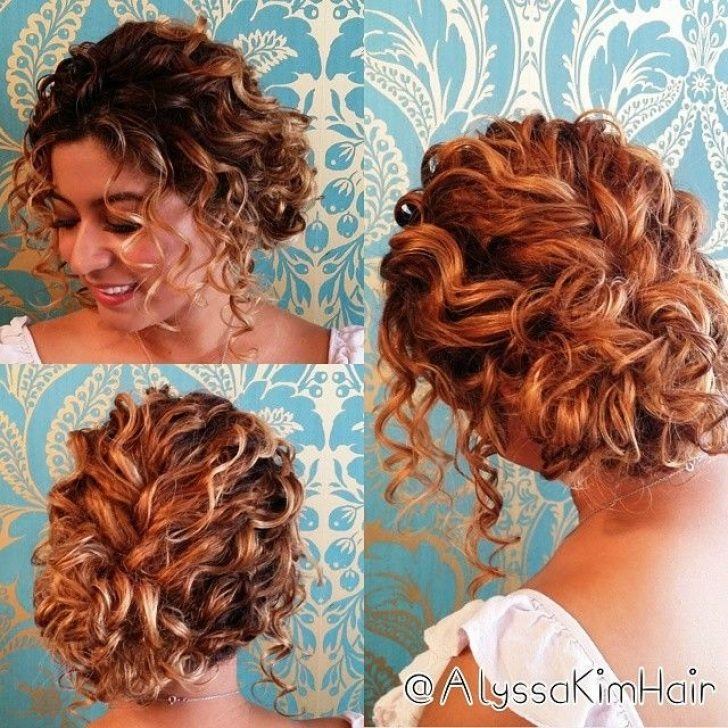 Permalink to 9 Fresh Hairstyles For Short Curly Hair For Prom Ideas