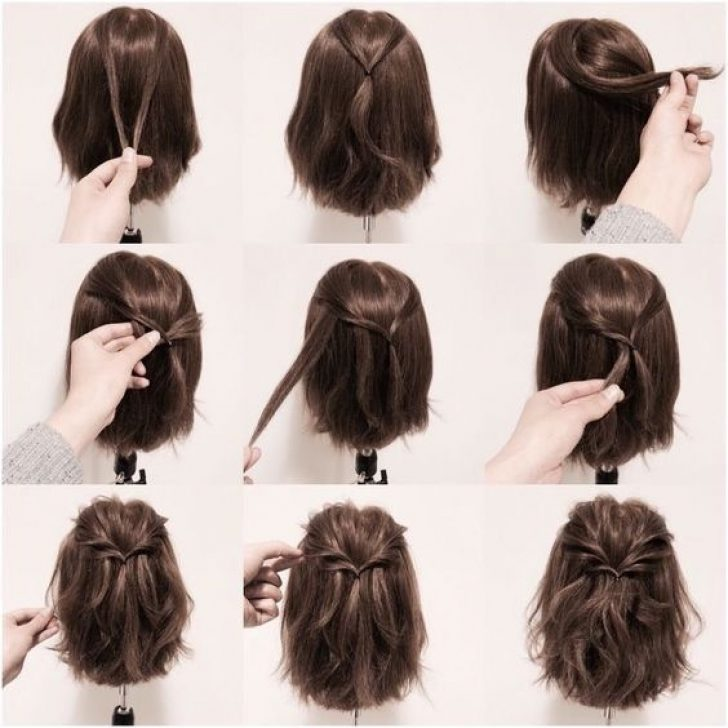 Permalink to 10 Fresh Easy Half Up Half Down Hairstyles For Short Hair Gallery