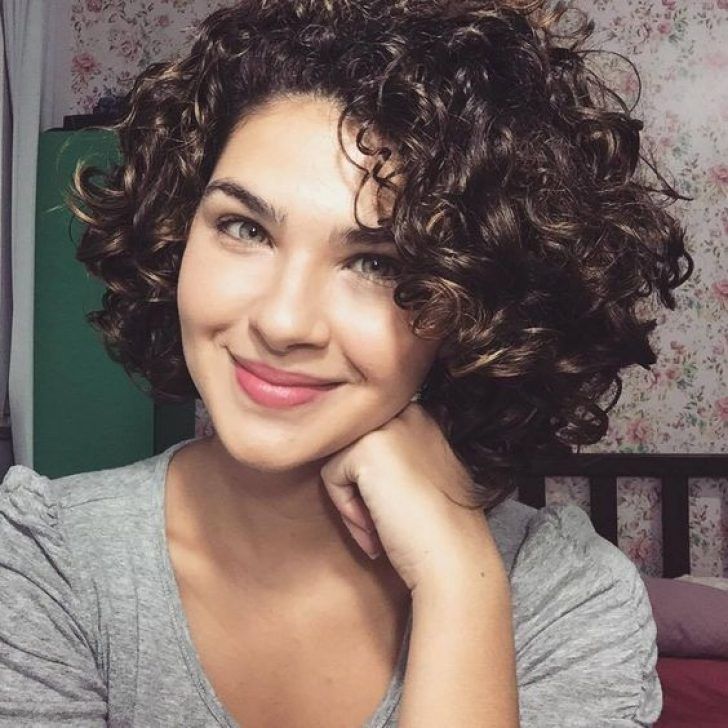 Permalink to 9 Awesome Cute Short Curly Hair Styles Gallery